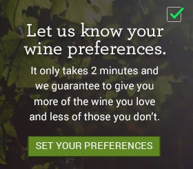 Set your wine preferences