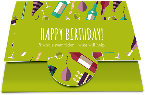 Gift Card 'Happy Birthday!'