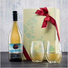Sunday Bay and Dartington Glasses Gift Set