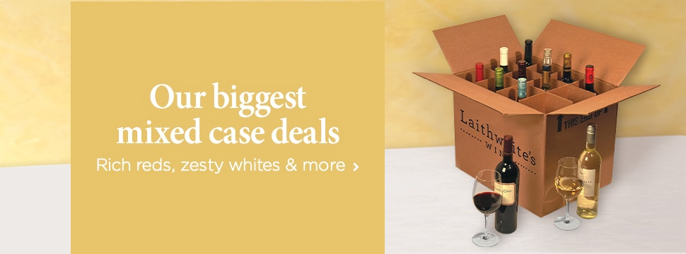 Our biggest mixed case deals – Rich reds, zesty whites & more