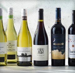 A selection of our top-selling vegan wines