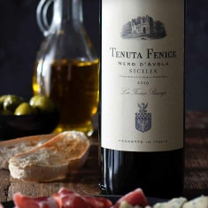 A bottle of Tenuta Fenice