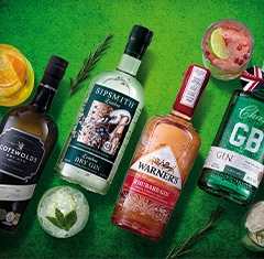 Perfect gins for Christmas cocktails - Each from great English boutique distilleries