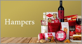 Hampers. Seasons Greetings Basket