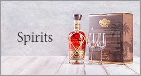 Spirits - Plantation Barbados Rum XO with 2 glasses