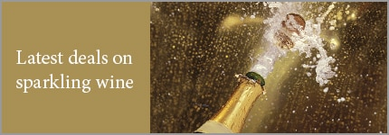 Latest deals on sparkling wine (champagne cork popping out the bottle)