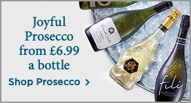 Joyful Prosecco from £6.99 a bottle