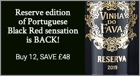Reserve edition of Portuguese Black Red sensation is BACK - Buy 12, Save £48