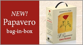New! Papavero Bag-in-Bottle
