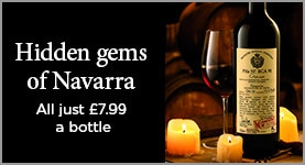Hidden gems of Navarra - All JUST £7.99 a bottle