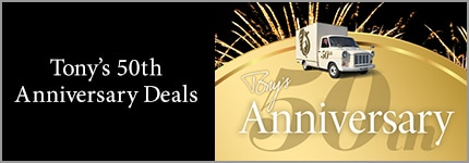 Tony 50th Anniversary Deals