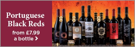 Portuguese Black Reds from £7.99 a bottle
