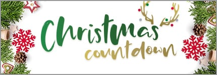 Christmas Countdown - Christmas decorations and Reindeer antlers