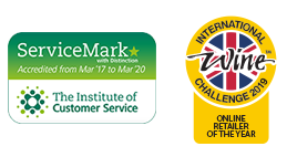 Service Mark - The Institute of Customer Service - Online Retailer of the Year - Shortlisted