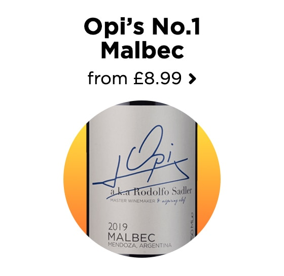 Opi's No.1 Malbec from £8.99