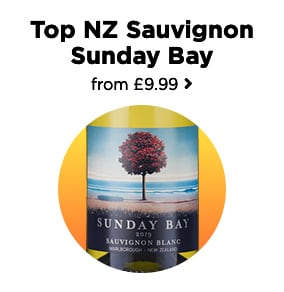 Top NZ Sauvignon Sunday Bay from £9.99
