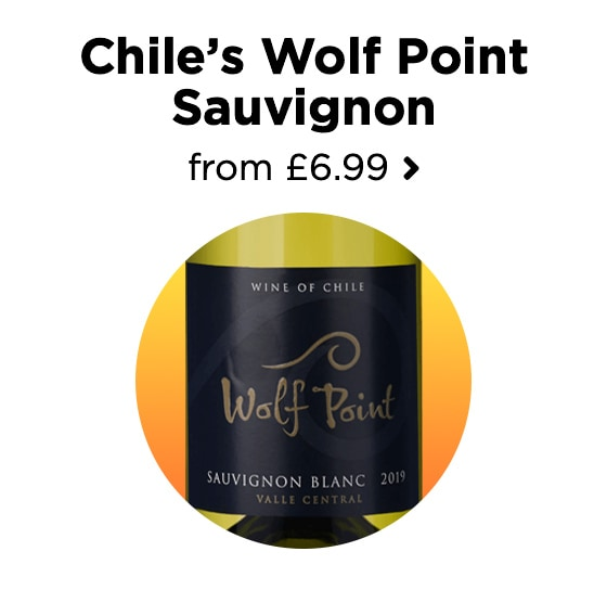 Chile's Wolf Point Sauvignon from £6.99