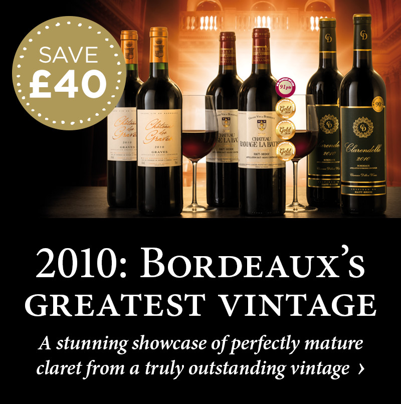 2010: Bordeaux's greatest vintage