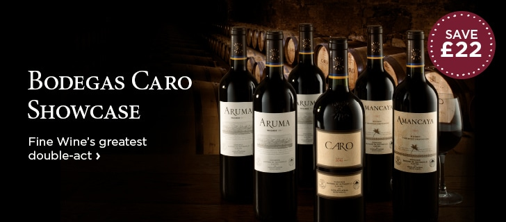Bodegas Caro Showcase - Fine Wine's greatest double-act - SAVE £22