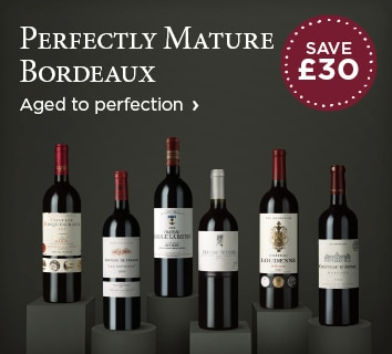 Perfectly Mature Bordeaux - Aged to perfection - SAVE £30
