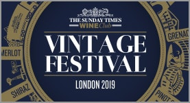 The Sunday Times Wine Club Vintage Festival 2019