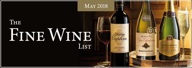 The May Fine Wine List