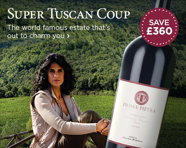 Super Tuscan Coup - The world famous estate that's out to charm you - SAVE £360
