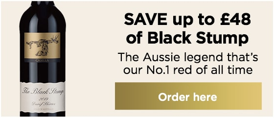 SAVE up to £48 on Black Stump The Aussie legend that's our No.1 red of all time