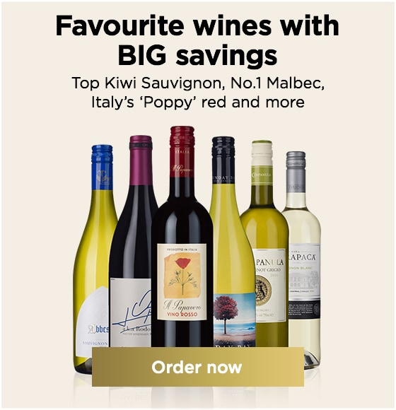 Favourite wines with BIG savings Top Kiwi Sauvignon, No.1 Malbec, Italy's 'Poppy' red and more From JUST £6.99 a bottle