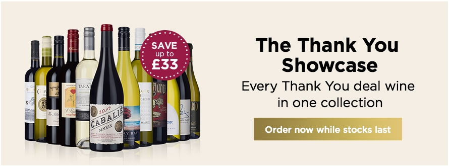 The Thank You Showcase Every Thank You deal wine in one collection