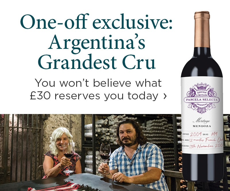 One-off exclusive: Argentina's Grandest Cru