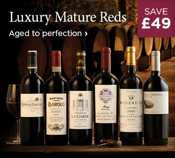 Luxury Mature Reds - Aged to perfection - £49