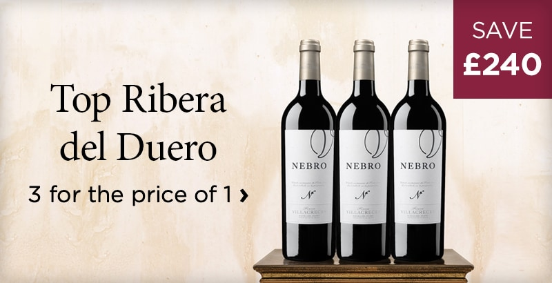 Top Ribera del Duero - 3 for the price of 1 - The purest and freshest you'll find - £240