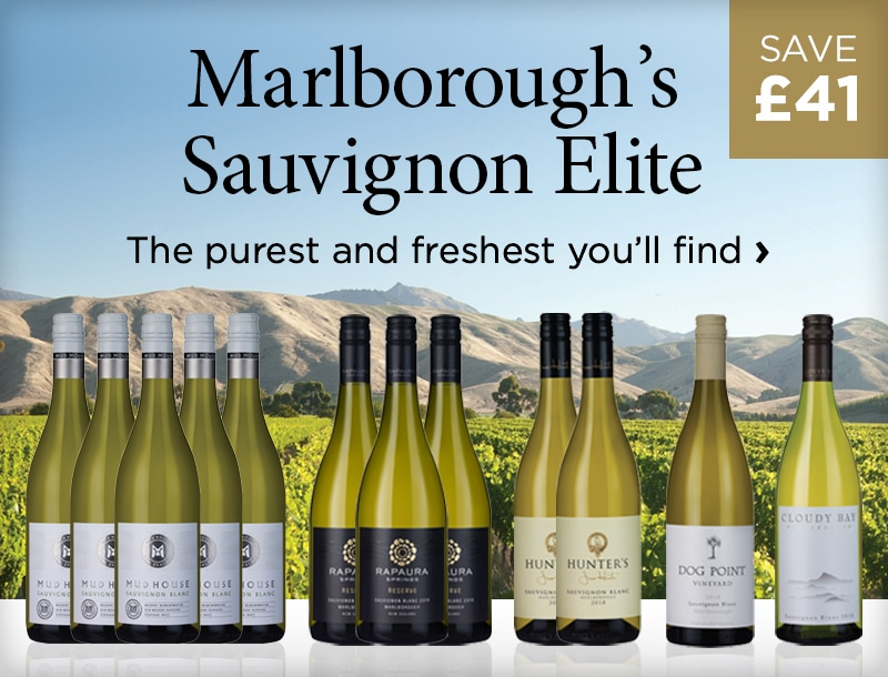 Marlborough's Elite Sauvignon - The purest and freshest you'll find - £41