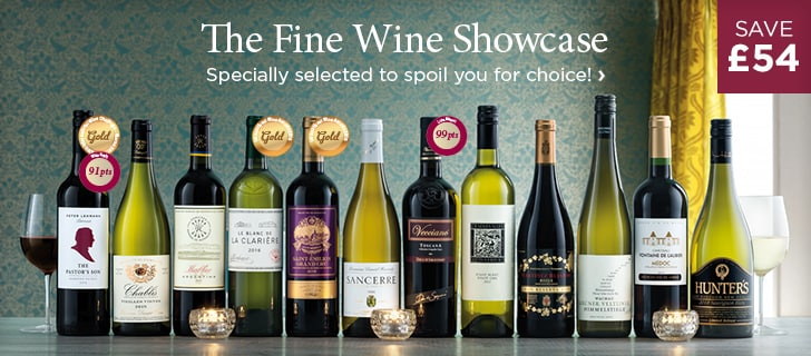The Fine Wine Showcase - Specially selected to spoil you for choice! - save £54