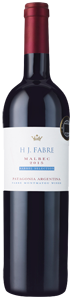 HJ Fabre Barrel Selection Patagonia Malbec 2015