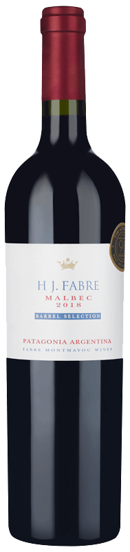 HJ Fabre Barrel Selection Patagonia Malbec 2018
