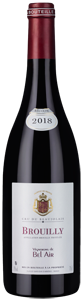 Vignerons de Bel Air Brouilly 2018