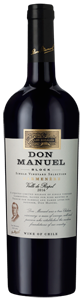 Los Rosales Don Manuel Block Single Vineyard Selection Carmenère 2016