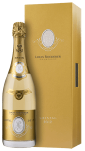 Champagne Louis Roederer Cristal Brut  (in gift box) 2012
