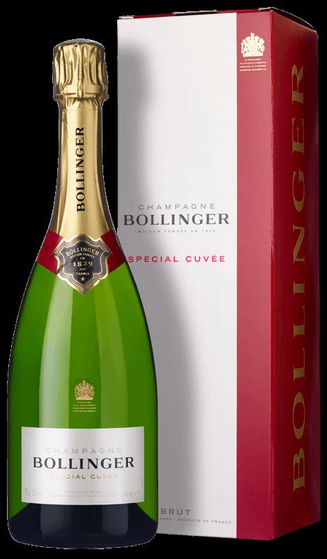 Champagne Bollinger Special Cuvée Brut (in gift box) NV ...
