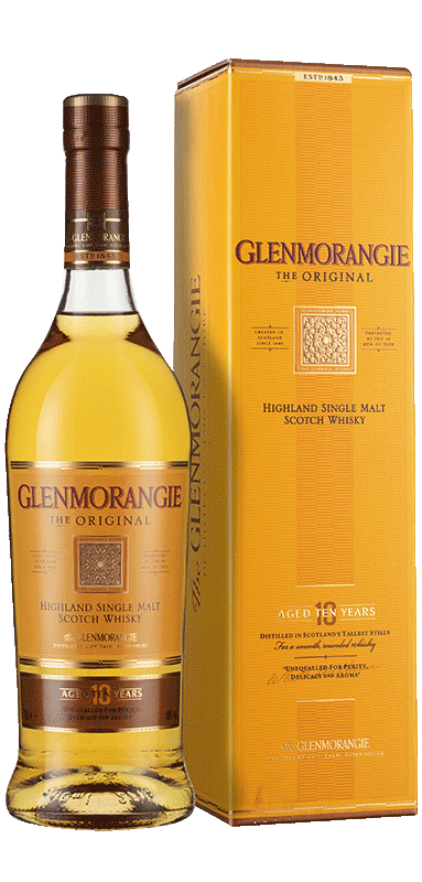 Glenmorangie Original 10-year-old Whisky (70cl in gift box) NV