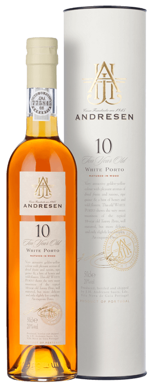 Andresen 10-year-old White Port (50cl) NV