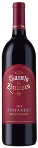 Saints and Zinners Zinfandel 2015
