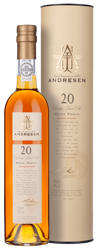 Andresen 20-year-old White Port (50cl) NV