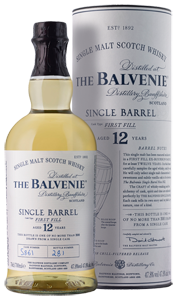 Balvenie 12-year-old Single Barrel First Fill Scotch Whisky (70cl)