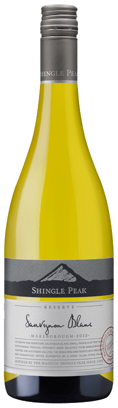 Shingle Peak Reserve Sauvignon Blanc 2013