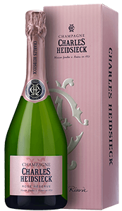 Champagne Charles Heidsieck Rosé Réserve (in gift box)