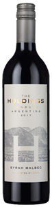 The Holdings Syrah Malbec 2017