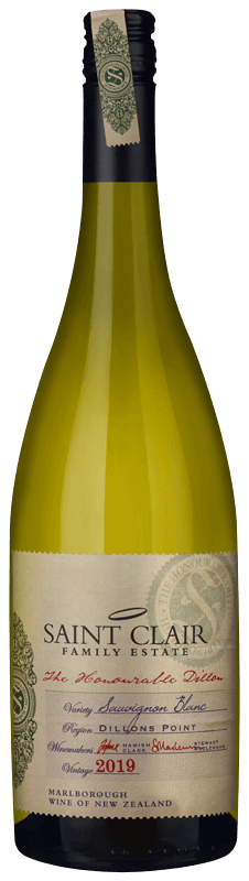 Saint Clair The Honourable Dillon Sauvignon Blanc 2019